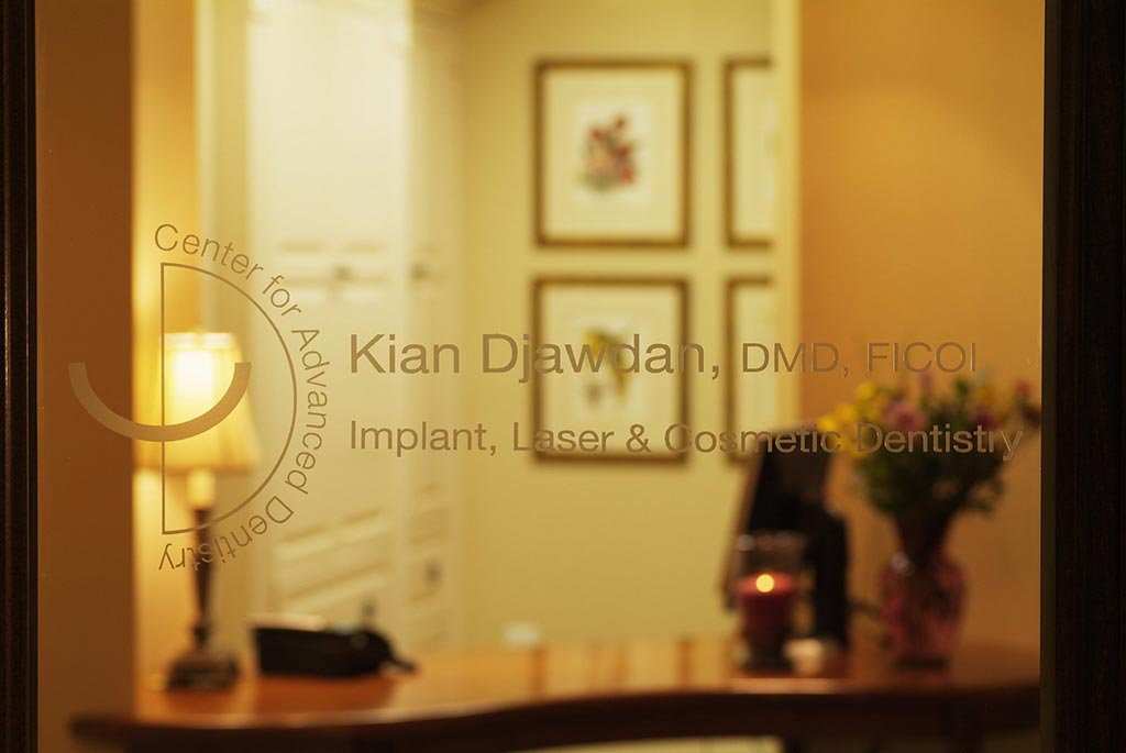 Office Entrance at Djawdan Center for Implant and Restorative Dentistry